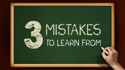 3 of the biggest mistakes you can make in sales.